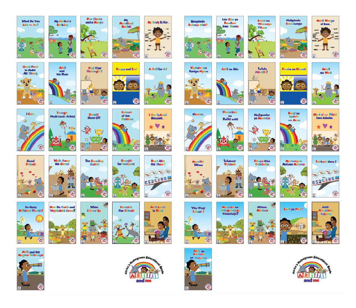 Ubongo kids and Akili and Me ebooks now available on Kitabu